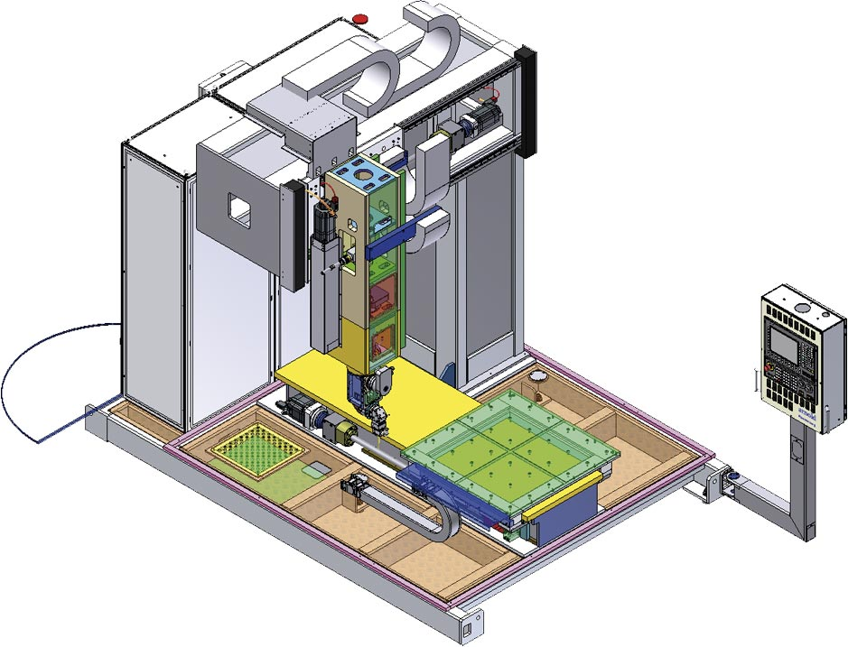 Layout Laser 3D Flexzelle