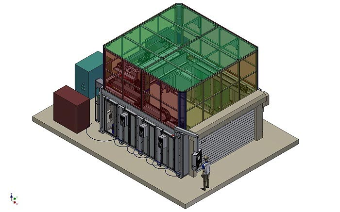 Layout 3D Gantry