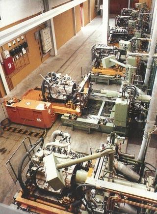 来自 MAN Nuremberg 的主要订单,测试现场发动机